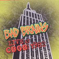 Bad Brains - Live at CBGB 1982 LP