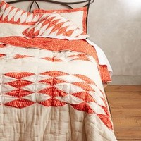 Dotted Ikat Quilt by Anthropologie