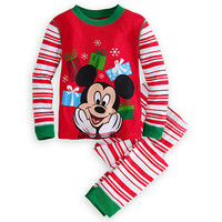 Mickey Mouse Holiday PJ Pal for Boys