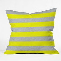 Holli Zollinger Bright Stripe Throw Pillow