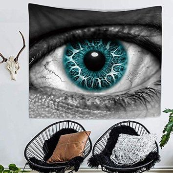 Window To The Soul Eye Fabric Wall Tapestry