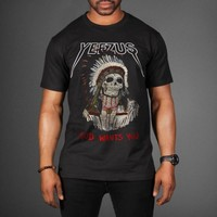 Red Indian Skeleton Kanye West Yeezus Tour T-Shirt - WEHUSTLE | MENSWEAR, WOMENSWEAR, HATS, MIXTAPES & MORE