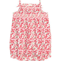 Jumpsuit with Smocking - from H&M
