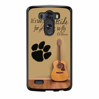 Ed Sheeran Guitar And Song Quotes LG G3 Case