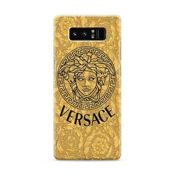 Versace Gold Logo Triforce Samsung Galaxy Note 8 Case
