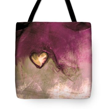 "Heart Of Gold Tote Bag 18"" x 18"""