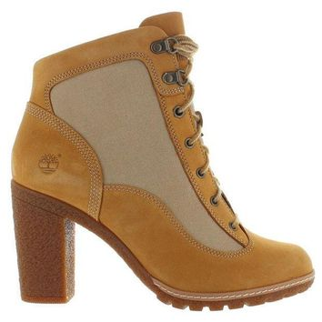 Timberland Earthkeepers Glancy   Wheat/tan Nubuck High Heel Boot