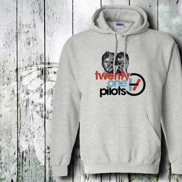twenty one pilots  hoodie unisex adult by gildan