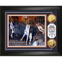Kevin Durant 2014 NBA MVP & Scoring Title Gold Coin Photo Mint