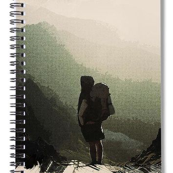 Out To Wander - Spiral Notebook
