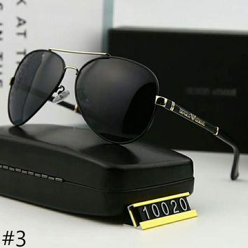 Armani 2018 Men Fashion Trendy Polarized Casual Sunglasses F-A-SDYJ #3
