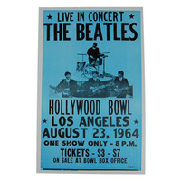 The Beatles Hollywood Bowl Poster -- Mexicali Blues