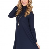 It All Adds Up Dress in Navy | Monday Dress Boutique