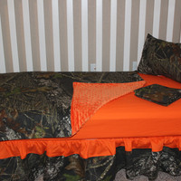 Mossy Oak 5 Piece Crib Bedding Set