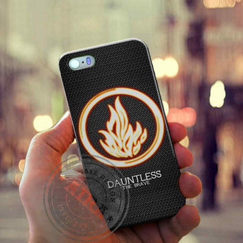 Divergent Dauntless The Brave Case for Iphone 4, 4s, Iphone 5, 5s, Iphone 5c, Samsung Galaxy S3, S4, S5, Galaxy Note 2, Note 3.