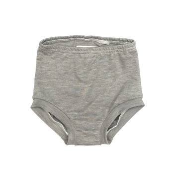 FRENCH TERRY HIGH WAISTED SHORTIES - HEATHER GREY