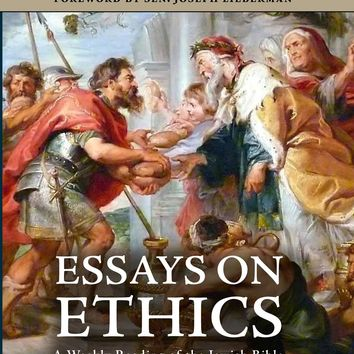 Essays on Ethics: A Weekly Reading of the Jewish Bible Hardcover – September 15, 2016
