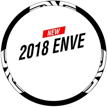 Two Wheels Set Rim Stickers for ENVE MTB Mountain Bike Cycling Race Decals M50 M60 M70