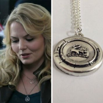 Snow White Once Upon A Time Emma Swan Pendant Necklace