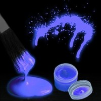 Glow in the Dark Body Paint (By The Color) (Blue):Amazon:Clothing