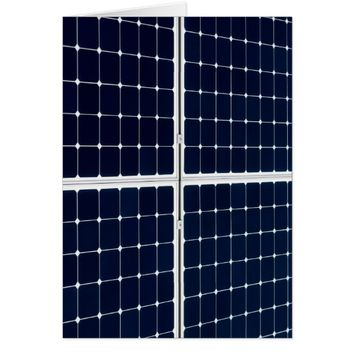 Solar power panel card