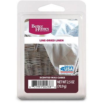 Better Homes and Gardens Wax Cubes, Line-Dried Linen - Walmart.com