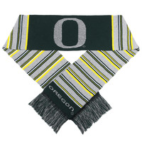 Oregon Ducks Glitter Stripe Scarf