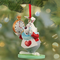 Disney White Rabbit Sketchbook Ornament | Disney Store