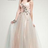 KC14506 Prom Dress in Vintage Style by Kari Chang Couture