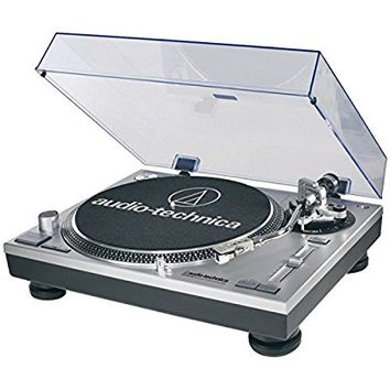 Audio-Technica AT-LP120-USB Direct-Drive Professional Turntable (USB & Analog) Certified Refurbished
