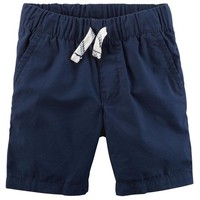 Easy Pull-On Poplin Shorts