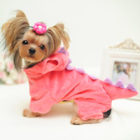 Halloween small pet dog/cat Dinosaur costume