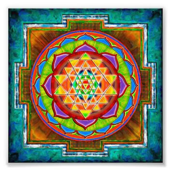 Intuition Sri Yantra - Artwork II Photo Print