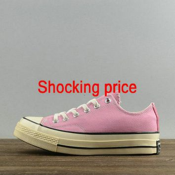Buy Women Converse Chuck Taylor All Star Usable 1970S Low Pink Grey 151224 fashion shoe
