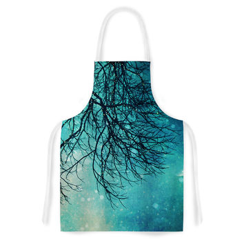 "Sylvia Cook ""Winter Moon"" Artistic Apron"
