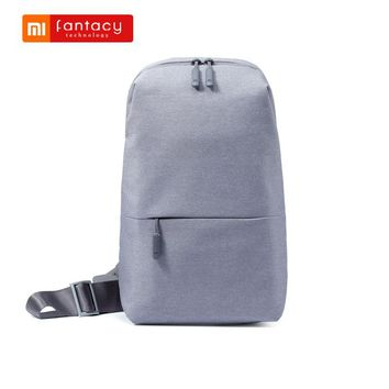 Urban Leisure Chest Bag Mi Multi-Functional Backpack Tablet Bags One Shoulder Unisex