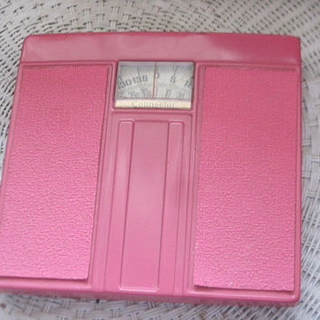 Dark Pink Standing Weight Scale Bathroom Scale/SALE  Coupon Code CLEARINGOUT25 .Must Be used at check out can not change after paying
