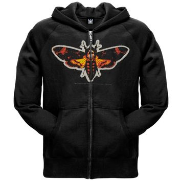 Silence Of The Lambs - Moth Patch Zip Hoodie