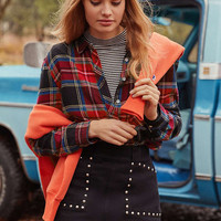 BDG A-Line Studded Mini Skirt | Urban Outfitters