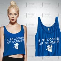 5 Seconds Of Summer 5SOS Flowy Tank Top