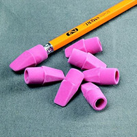 School Smart Wedge Cap Pencil Tip Erasers - Box of 144