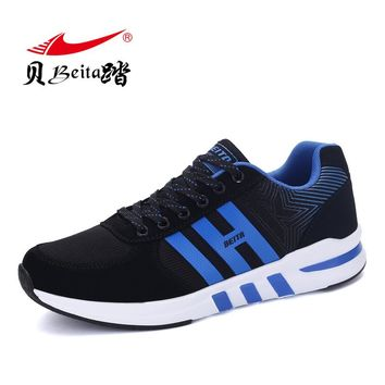Beita 2017 New spring and autumn New lightweight breathable Men's Running shoes Outdoor Lace-Up Sneakers Men shoes 39~44 size