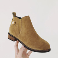 Hot Deal On Sale Casual Stylish Shoes Winter Flat Dr. Martens England Style Matte Boots [9448882311]