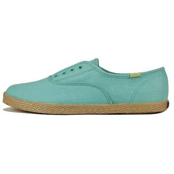 CREYI7E Keds for Women: Champ Jute Aqua Sneakers