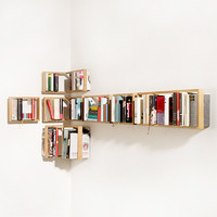 Weightless Bookshelves – das kleine b