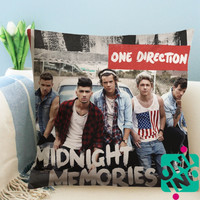 1D Midnight Memories Zippered Pillow Case, Cushion Case, Pillow case