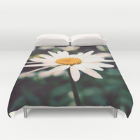 Afternoon Daisy Duvet Cover by Tangerine-Tane