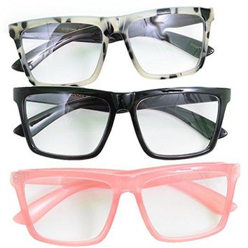 Cynthia Bailey Pink Black Marble Reading Glasses 3 Pack Readers +1.50