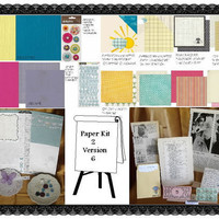 Scrapbooking Scrapbook Kit lot of NEW and by ScrappyDoodads