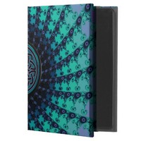 Cool Hued Celtic Fractal Spiral iPad Air 2 Case Powis iPad Air 2 Case